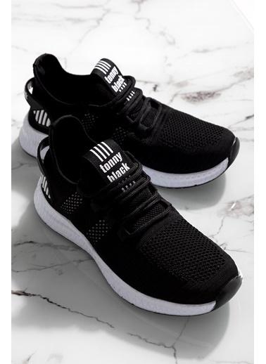 Tonny Black Siyah Beyaz Unısex Spor Ayakkabı Tbıdl Siyah